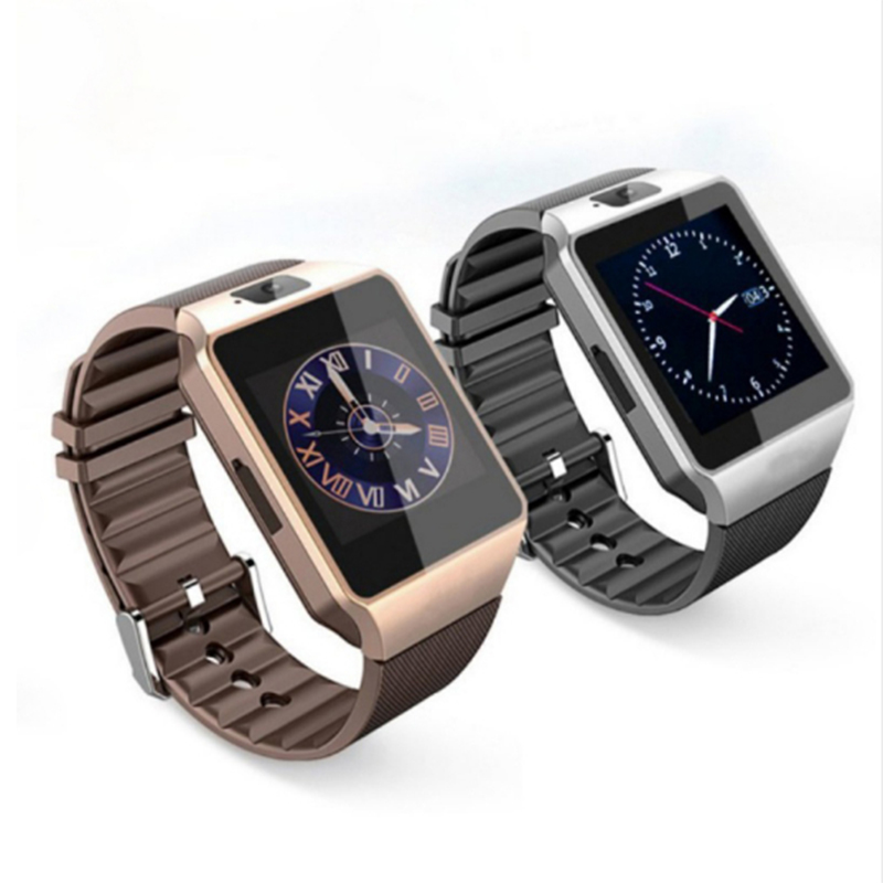 Wholesale Dz09 Smart Watch Wristwatch Support With Camera Pedometer Smartwatch Android Phone Call Relogio 2G GSM PK Q18 Y1