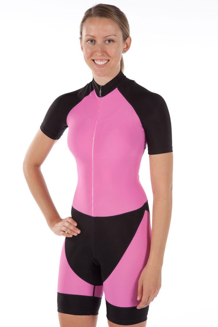 Tout en un 2019 Pro femmes cyclisme peau costume haute qualité Triathlon sport vêtements vélo PRO course skinsuit