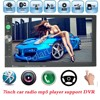 Bluetooth Car Stereo MP4 MP5 Radio Player steering wheel control 2 Din 7 Inch Touch Screen 7 background lights 8 languages