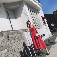 Free Shipping Semi Formal Dresses For Girls Sleeveless Prom Dress Puffy Scalloped Red Tea Lengthformal Homecoming