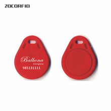 Keyfob-Card T5557/125khz Key-Tags RFID Rewritable Logo 100pcs/Lot Clone Custom-Printing