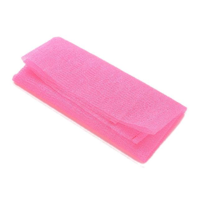 1PCS Nylon Japanese Exfoliating Beauty Skin Bath Shower Wash Cloth Towel Back Scrub 3 Colors Towel Sponges & Scrubbers 1