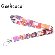 David Bowie keychains Accessories Safety Breakaway Mobile Phone USB ID Badge Holder Keys Straps Tags Neck lanyard Camera J0225