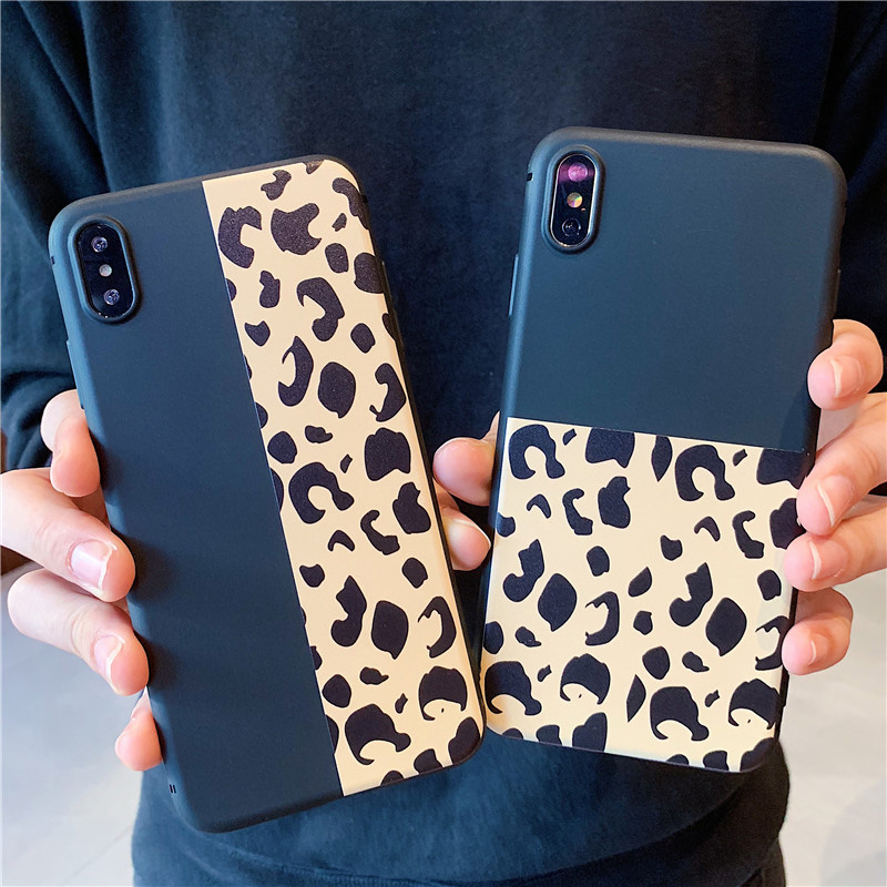 info for dabd6 32c0b US $1.48 |Fashion Leopard Print Splice Phone Cases For iPhone XS Max Case  For iphone XR X 8 7 6S 6 plus Back Cover Luxury Soft Cases Capa-in Fitted  ...