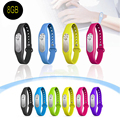 Free Shipping !! 20 hours Recording 2016 Fashion Wearable Wristband Colorful Portable 8GB Digital Audio Voice Recorder