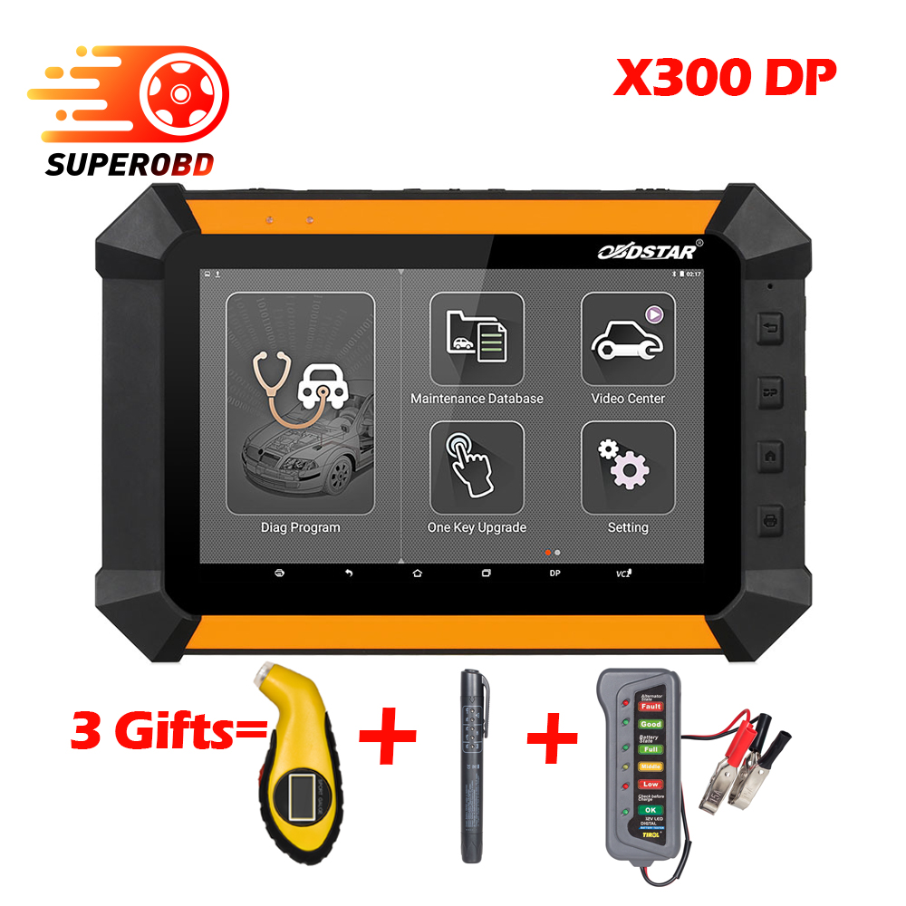 OBDSTAR X300 DP Car Auto Key Programmer+EEPROM Adapter Immobilizer Odometer Correction tool OBD2 Diagnostic Tool as x100 pad 2
