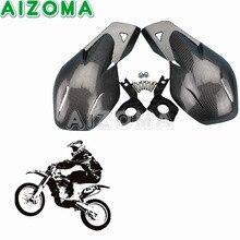 """Modificação Motocross Equipamentos de Proteção Fit 7/8 """"Guidão Universal Para KAWASAKI HONDA Motocicleta Handguard Protetor de Mão"""