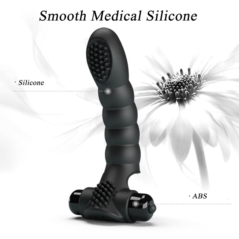 Finger <font><b>Dildo</b></font> Vibrator <font><b>Sex</b></font> <font><b>Toys</b></font> for Adults Women Vibrating Finger G-spot Clitoris Stimulator Vagina <font><b>Massager</b></font> Female Masturbator image