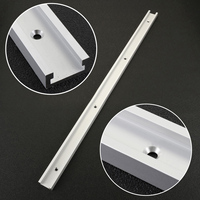 1pc High Quality T Tracks Aluminum Mayitr Slot Miter Track Jig Fixture For Router Table Saw