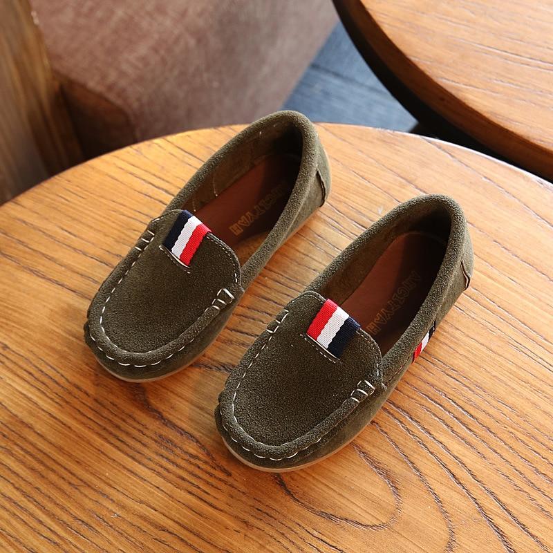 2018 New Autumn Boys Children Shoes Kids Boys PU Leather Shoes Kids - Zapatos de niños - foto 4