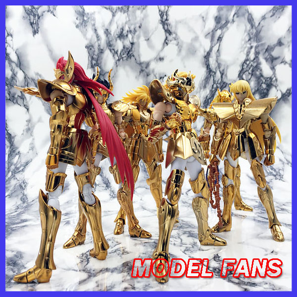 MODEL FANS Metal club/S-Temple/Toyzone MC/ST/TZ 12 gold saint seiya cloth myth OCE gemini virgo leo Scorpio cancer Aquarius remote switch wall light free shipping 3 gang 1 way control touch us standard gold crystal glass panel with led electrical