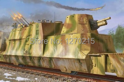 все цены на Trumpeter 1/35 01511 German BP-42 Kanonen & Flakwagen Model Kit онлайн