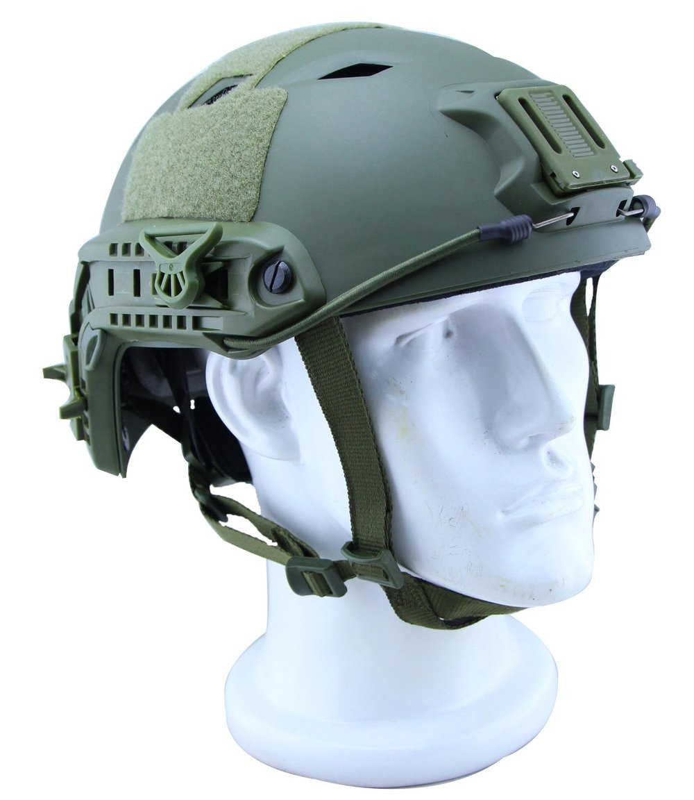 Military Tactical Helmet Tactical Lightweight Tactical ABS Helmet for Airsoft, Paintball Games and Bike Pararescue Jump Helmet video play strength test tactical helmet new fma maritime abs de for fma paintball outdoor sports helmet
