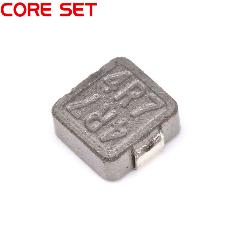 10pcs/lot NEW SMD Power Inductors 4.7uh 4R7 Chip Inductor 0630 High Quality 500pcs 1608 0603 2 7uh chip smd multilayer inductor