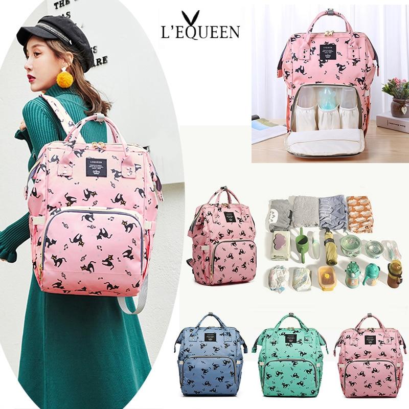 2pcs//set Maternity Mummy Baby Nappy Diaper Bag Nursing Backpack Handbag USB Port