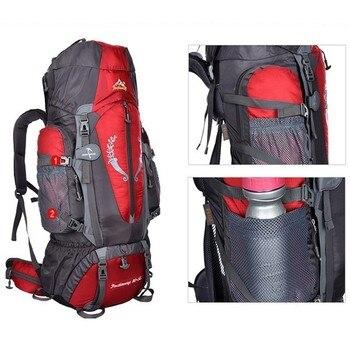 Hot  Large 85L Outdoor Backpack Unisex Travel Multi-purpose climbing backpacks Hiking big capacity Rucksacks camping bag 4