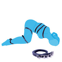 7 Pcs Adjustable Body Bondage Restraints Bandage Adult Games Cosplay Slave Fetish Sex Game Bdsm Discipline