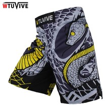 WTUVIVE MMA Boxing Fitness Cats Fighting Sanda Sports Shorts Loose High Quality shorts mma muay thai clothing mma