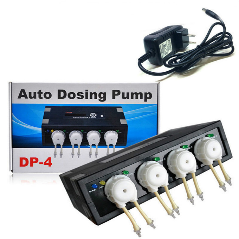Pumps (water) Jebao Jecod Coral Cylinder Aquarium Automatic Titration Pump Dp4 Dosing Timing Refreshment