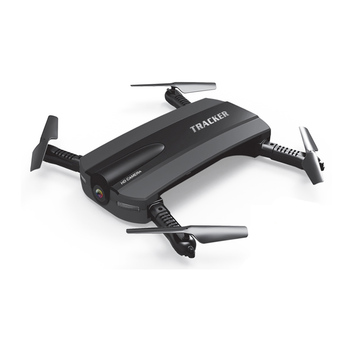 Selfie Drone JXD 523 W JXD 523 Tracker מתקפל מיני Rc Drone עם Wifi FPV מצלמה אחיזת גובה Headless מצב RC מסוק