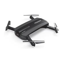 Селфи Дрон JXD 523 Вт трекер складной мини-Радиоуправляемый Дрон с Wi-Fi FPV камеры высота Удержание headless режим вертолет