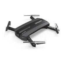 Селфи Дрон JXD 523 Вт JXD 523 трекер складной мини-Радиоуправляемый Дрон с Wi-Fi FPV Камера высота Удержание Headless режим вертолет