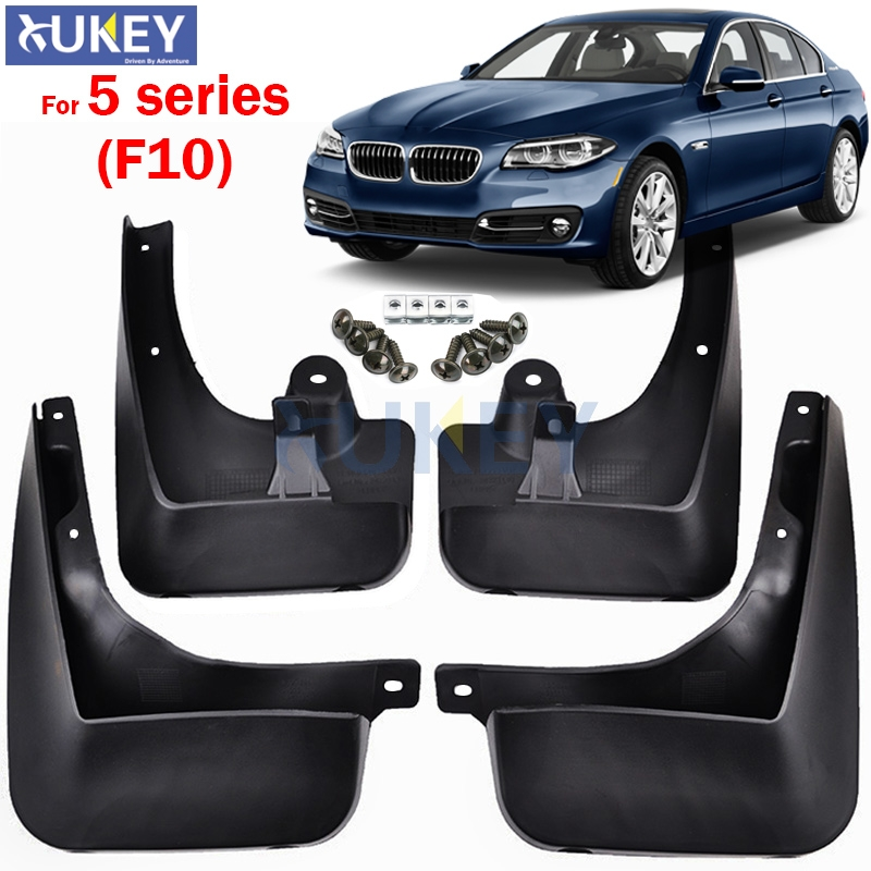 FRONT REAR MUD FLAPS FOR BMW 5 SERIES F10 528 535 550 2011 2013 2014 2015