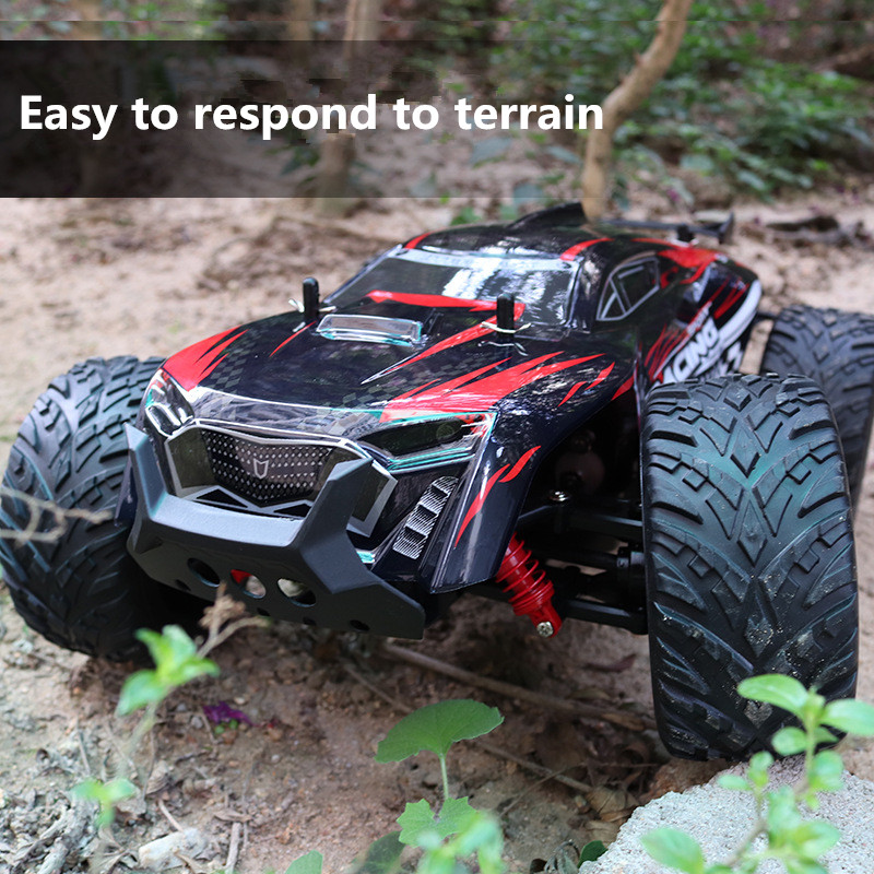 2018 New Durable Racing RC Car Model 2856 2.4G 1::10 Full-ratio Four-wheel 30-35KM Remote Control High-speed Drift Car Boy Gift