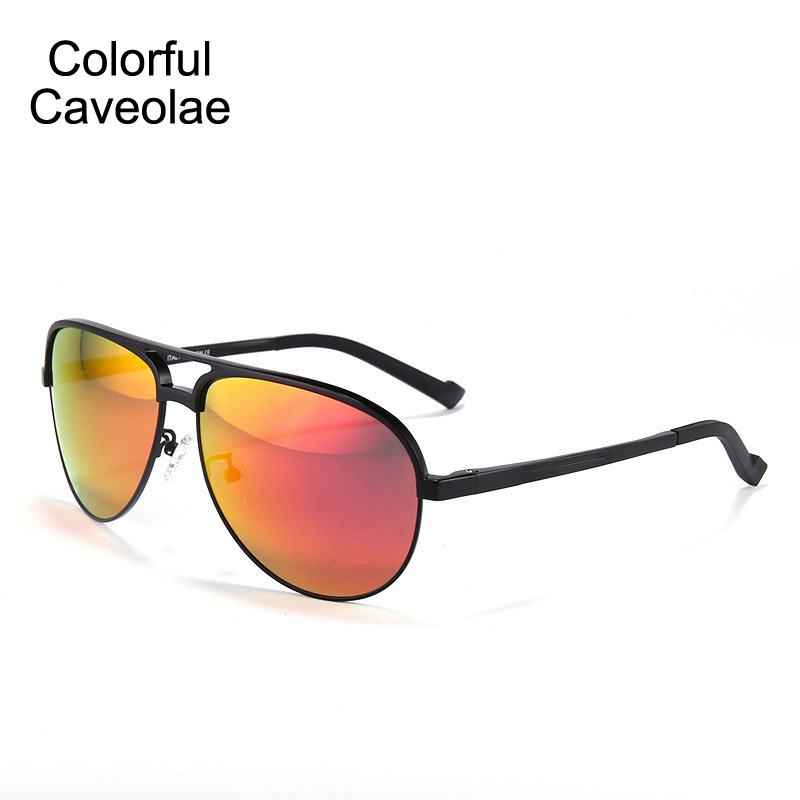 0ba1cd6520b Aliexpress.com: Comprar Colorido caveolae moda Sol Gafas hombre ...