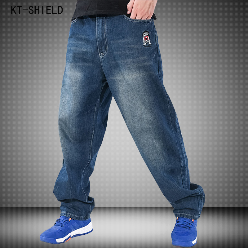 Fashion biker Jeans for Men Embroidery Designer Baggy Hip Hop Mens Casual Pants Brand Straight Denim Trousers Vaqueros Hombre man jeans famous brand vaqueros hombre straight jeans biker denim slim fit trousers fashion ripped mens casual hip hop pantalon