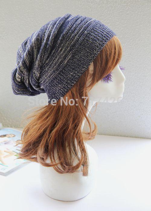 Fashion Hip-hop Knitting Wool Winter Hats For Women /Men Fashion Outdoor Hat Men /Women Cap Double Colors 2017 korean cartoon knitting wool hat winter warm fashion hat for women men simple hamburge patch cap ice cream potatoes