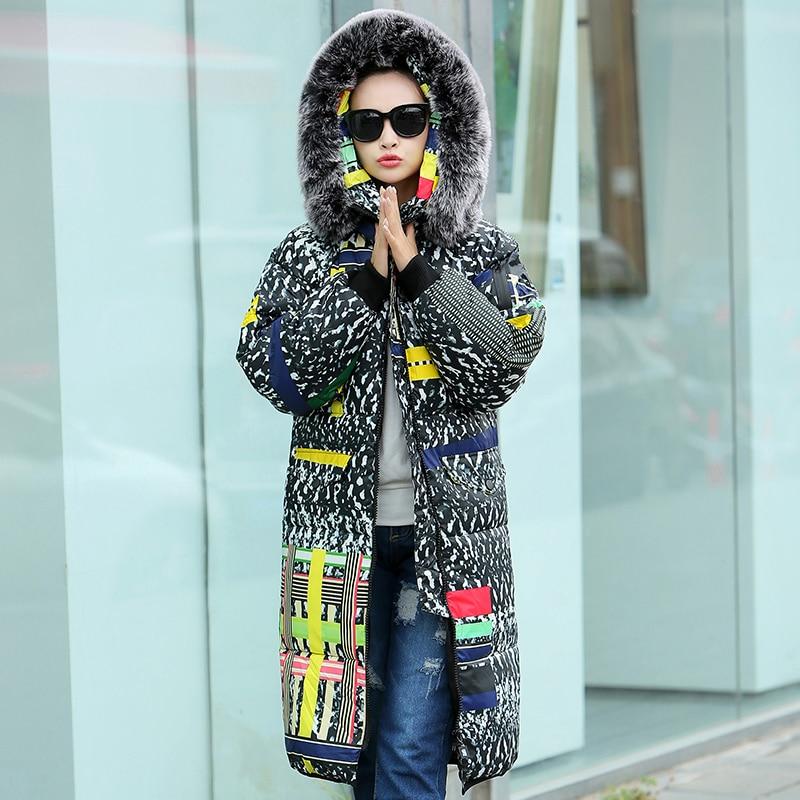 Fashion Women Winter Coat and Jackets Lover Matching Fur Collar Coats Unisex Winter Coat Men Jackets Outerwears