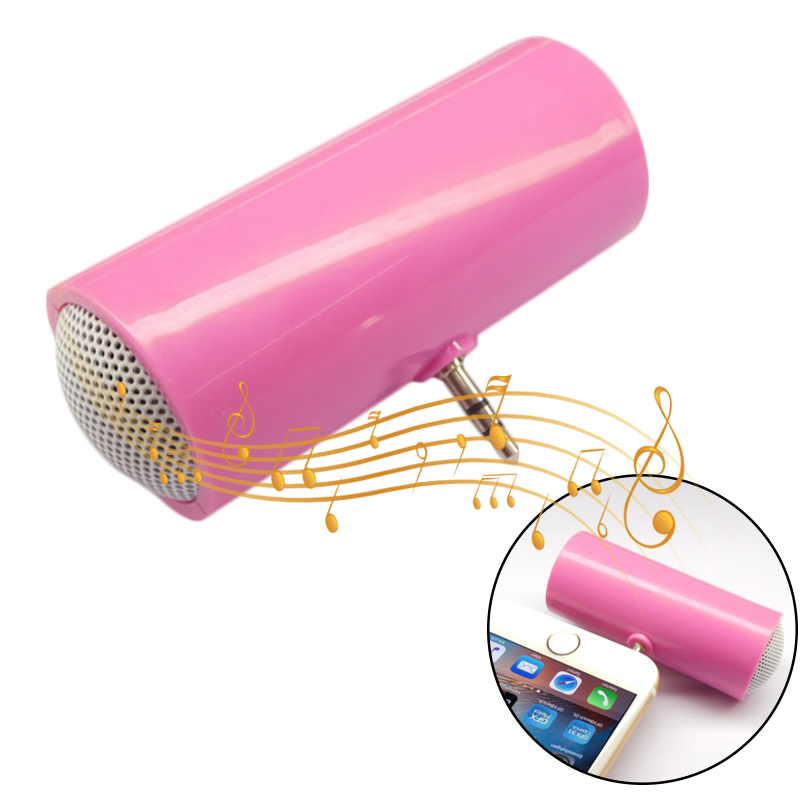 3 5mm Direct Insert Portable Mini Speaker Stereo Speaker