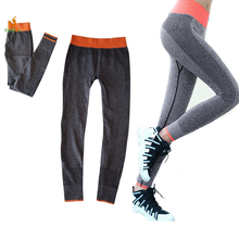 Sports Fitness Quick Dry Pants Elastic Running Capris Female Breathable Gym Tights Aerobics Yoga Pilates Women Jogging Trousers