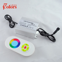 Wireless Waterpoof IP67 216W Input DC12V LED RGB Controller Outdoor used for Deck Inground Underground Step