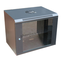Chassis Small cabinets 9U wall mounted cabinets Exchange Wall handing cabinets Network cabinets 1pc