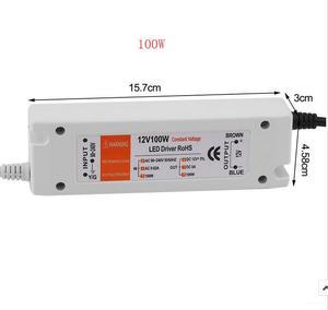 Image 5 - 3 yıl garanti yeni kaliteli kompakt LED sürücü güç kaynağı trafo DC12V 18W 100W