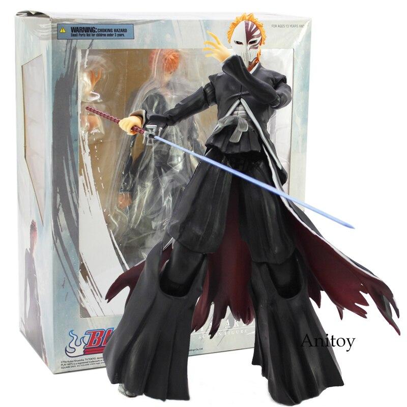 Play Arts Kai BLEACH Kurosaki Ichigo PVC Action Figure Collectible Model Toy 27 5cm