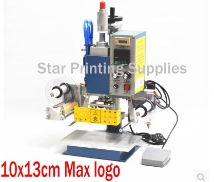 Pneumatic Hot Foil Stamping Machine, Branding Machine, Marking - Office Electronics