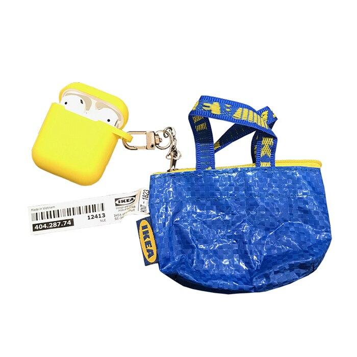 Роскошные модные INS портмоне Storag ewallet наушники чехол для Apple Airpods интимные аксессуары милый силиконовый