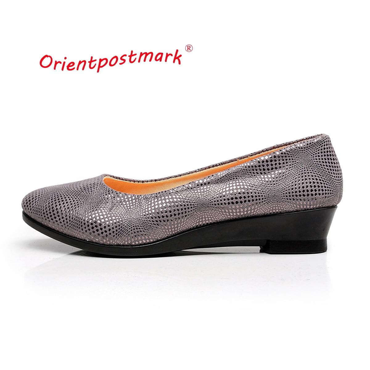 Orientpostmark Women Ballet Pregnant Shoes Work Shoes Women Loafers Slip On Women's Boat Shoes last
