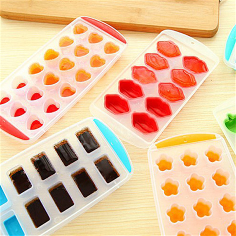1PC Ice Cube Model Ice Making Ice Cream with A Multi-purpose Kitchen Bar Counter Frozen Ice Mold