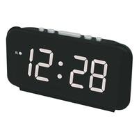Big Numbers Digital Alarm Clocks EU Plug AC power Electronic Table Clocks with Large LED Display