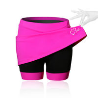 Spakct Cycling Women Girls Skirt Shorts 3D Padding Moutain Bike MTB Bike And Mini Skirt S15T06W