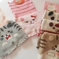 Navidad soft mantener caliente pantalones de cintura abdomen proteger Leggings Pantalones pantalones caseros casa caliente