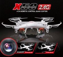Syma X5C X5C – une 2.4 G 6 axe GYRO HD UFO RC Quadcopter RTF télécommande hélicoptère drone avec caméra 2.0MP jouets