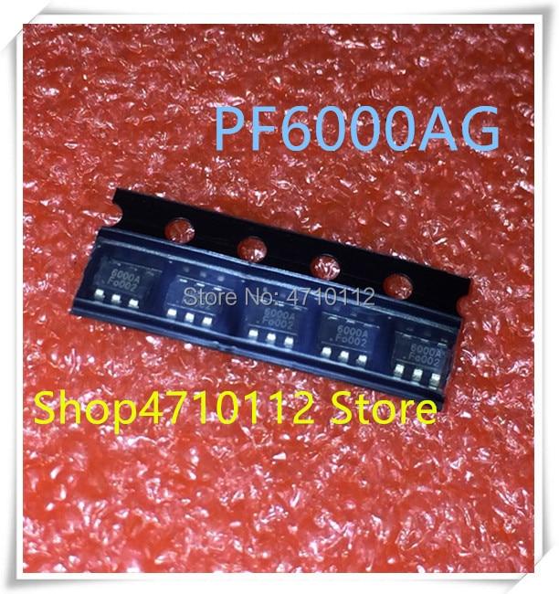 NEW 10PCS/LOT PF6000AG PF6000A PF6000 MARKING 6000A SOT23-6 IC