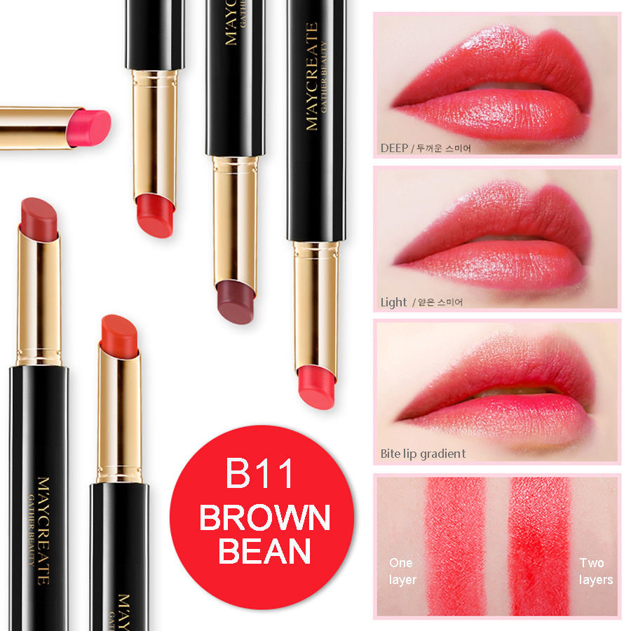 MayCreat Original Lipstick Matte Sexy Long Lasting Waterproof Flower Pencils Moisturizer Lips Makeup lipstick Set
