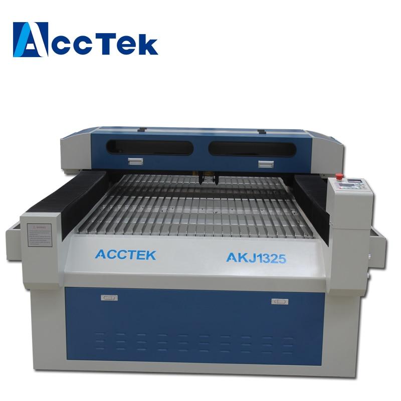 Acctek 1325 plotter de corte a laser/co2 máquina de corte a laser design de madeira/acrílico gravação a laser máquina de corte