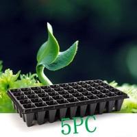 5 PZ 21 32 50 Fori Verdura Semi di Fiori Crescere Planter pentole Vassoio Giardino Impianto Vivaio Piantina Piastra per Giardino di Casa piantare